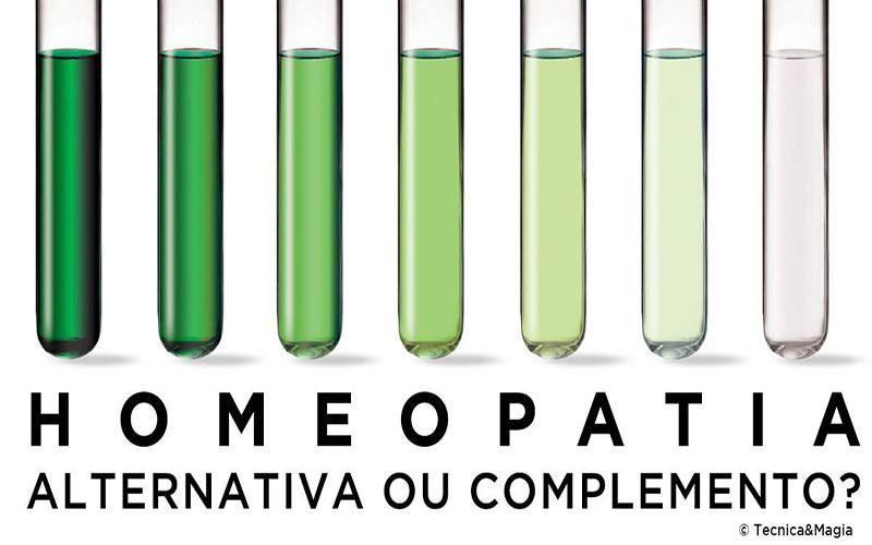 HOMEOPATIA, ALTERNATIVA OU COMPLEMENTO?
