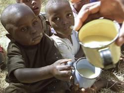 Crianças com fome