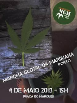 cartaz marcha global marijuana