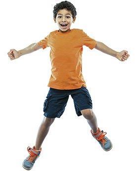 Criança exercício