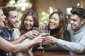 Amigos bebida