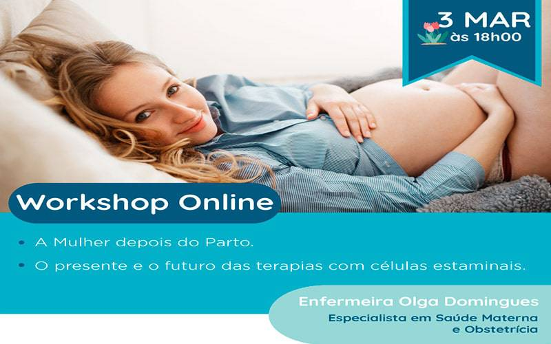 Workshop Online: A Mulher depois do Parto