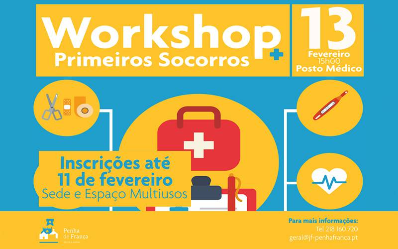 "WORKSHOP ""Primeiros Socorros"""