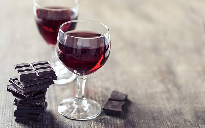 Antioxidantes do vinho tinto e do chocolate rejuvenescem células