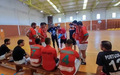 Atletas com diabetes no Campeonato Europeu de Futsal