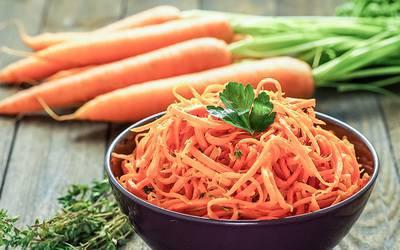 Consumo de cenoura pode ser benéfico para saúde