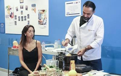 Doentes renais aprendem a cozinhar de forma saudável