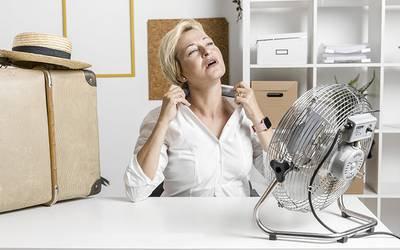 Ondas de calor na menopausa podem indicar risco cardiovascular